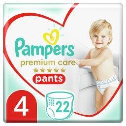 Premium Care Pieluchomajtki, Rozmiar4, 22Sztuk, 9kg-15kg