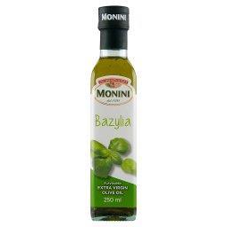 Aromatyzowana oliwa z oliwek o smaku bazylii