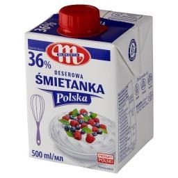 Śmietanka Polska deserowa 36%