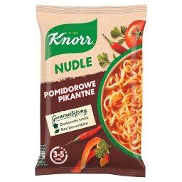 Nudle Zupa-danie pomidorowe pikantne