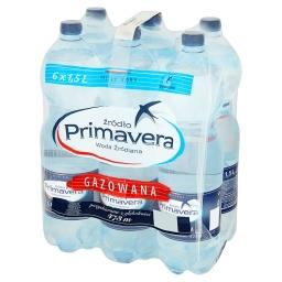 Woda źródlana gazowana 6 x 1,5 l