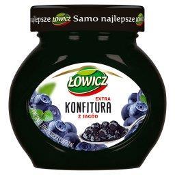 Konfitura extra z jagód o obniżonej zawartości cukrów