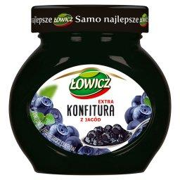 Konfitura extra z jagód o obniżonej zawartości cukró...