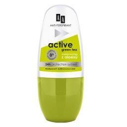 Deo antiperspirant w kulce No Stress Active Green Tea 24h 50 ml