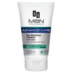 Men Advanced Care Żel do mycia twarzy matujący 150 m...