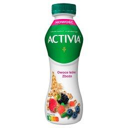 Jogurt owoce leśne zboża