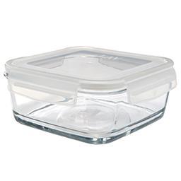 Szklany pojemnik z pokrywką 1000 ml