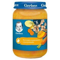 Kurczak w potrawce z jarzynkami dla niemowląt po 6. ...