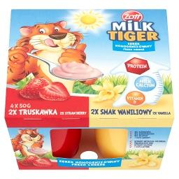 Milk Tiger Serek homogenizowany truskawka wanilia 20...
