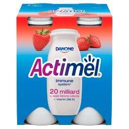 Actimel Mleko fermentowane o smaku truskawkowym 400 ...