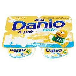 Danio Białe Serek homogenizowany o smaku śmietankowy...