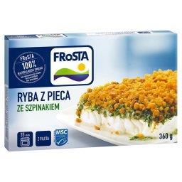 Ryba z pieca ze szpinakiem 360 g