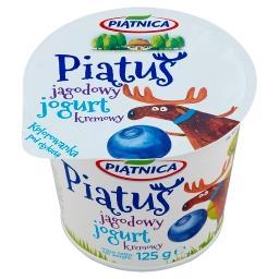 Piątuś Jogurt kremowy jagodowy