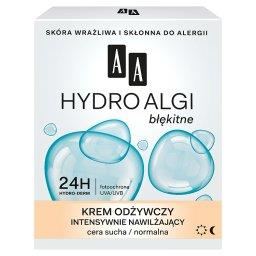 Hydro Algi błękitne Krem odżywczy intensywnie nawilżającycera sucha normalnadzień noc