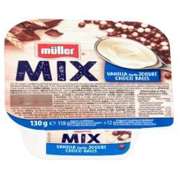Mix Jogurt o smaku waniliowym z kulkami zbożowymi w ...