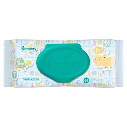 Fresh Clean Chusteczki dla niemowląt, 64 sztuki
