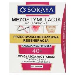 Mezostymulacja kolagenowa 40+ Wygładzający krem na dzień