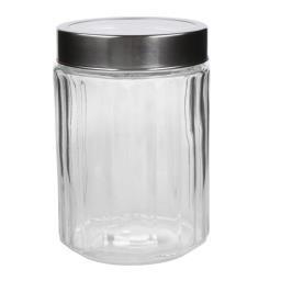 Pojemnik szklany z przezroczystą pokrywką 1750 ml pr...