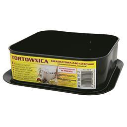 """Tortownica/forma/blacha do pieczenia kwadratowa """"non..."""