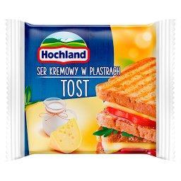 Ser kremowy w plastrach Tost