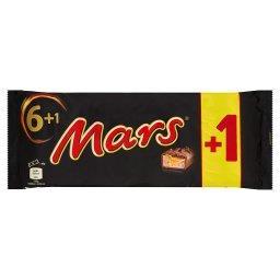 Baton z nugatowym nadzieniem oblany karmelem i czekoladą 315 g (7 sztuk)