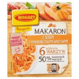 Pomysł na... Makaron z sosem z pomarańczowymi warzyw...