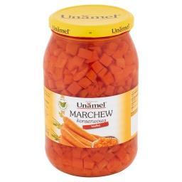Marchew konserwowa kostka