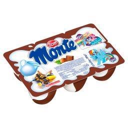 Monte Deser mleczny z czekoladą i orzechami 330 g (6...