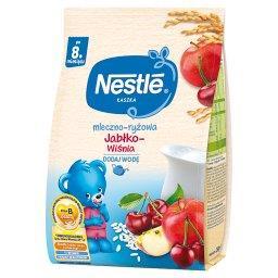 Kaszka mleczno-ryżowa jabłko-wiśnia dla niemowląt po...