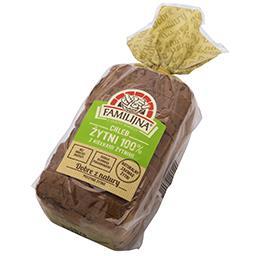 Chleb żytni 100% z kiełkami żytnimi 480g