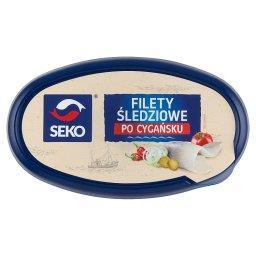 Filety śledziowe po cygańsku