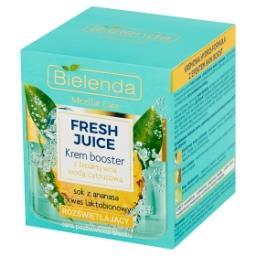 Fresh Juice Krem booster z bioaktywną wodą cytrusową...