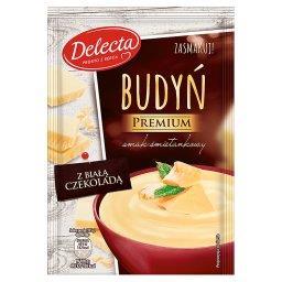 Premium Budyń smak śmietankowy z białą czekoladą