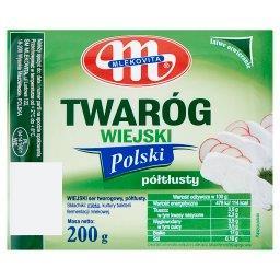 Twaróg wiejski Polski półtłusty