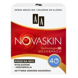 Novaskin 40+ krem na noc wygładzenie + regeneracja 50 ml