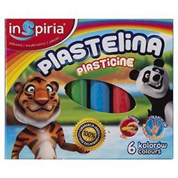 Inspiria Plastelina 6 kolorów