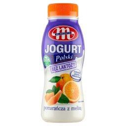 Jogurt Polski bez laktozy pomarańcza z melisą