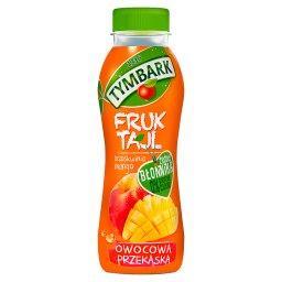Fruktajl Koktajl wieloowocowy z kawałkami owoców brzoskwinia mango