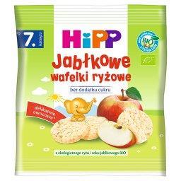 BIO Wafelki ryżowe po 7. miesiącu jabłkowe