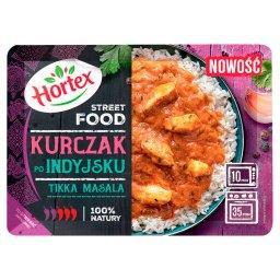 Street Food Tikka Masala Kurczak po indyjsku