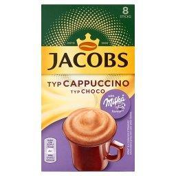 Cappuccino Choco Rozpuszczalny napój kawowy o smaku czekolady Milka 144 g