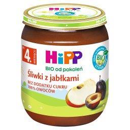BIO Śliwki z jabłkami po 4. miesiącu