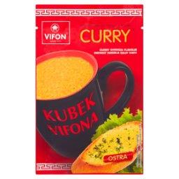 Kubek a Zupa o smaku kurczaka curry