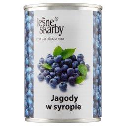 Jagody w syropie 400 g