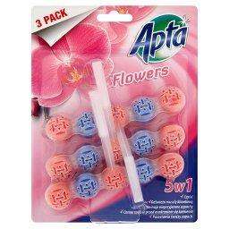 Flowers Zawieszka do WC 3 sztuki