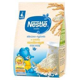 Kaszka mleczno-ryżowa o smaku waniliowym po 4. miesi...