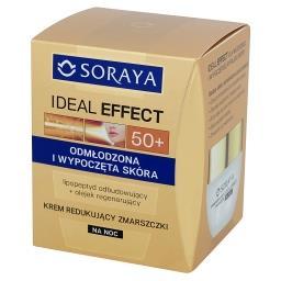 Ideal Effect 50+ Krem redukujący zmarszczki na noc