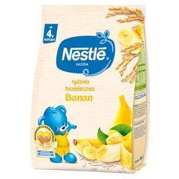 Kaszka ryżowa bezmleczna banan dla niemowląt po 4. m...