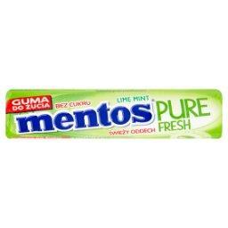 Pure Fresh Lime Mint Guma do żucia bez cukru  (8 szt...