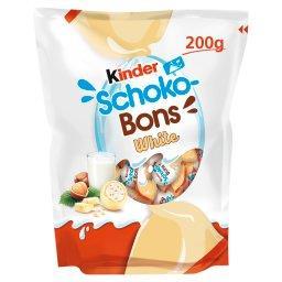 Schoko-Bons White Czekoladki z białej czekolady z na...
